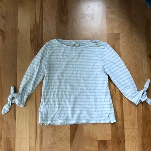 J.Crew Crew Neck Striped Long Sleeve